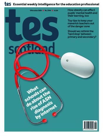 Tes Scotland cover 06/11/20