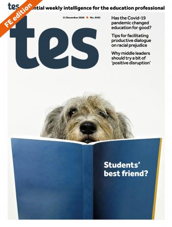 Tes FE cover 11/12/20