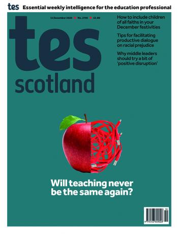 Tes Scotland cover 11/12/20