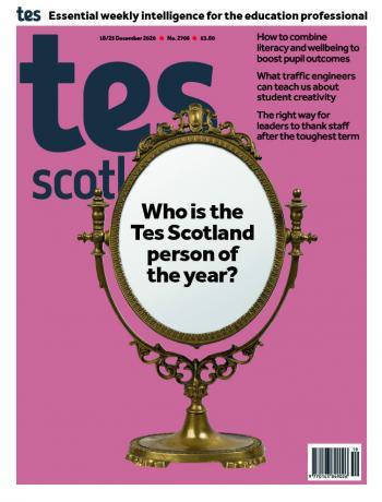 Tes Scotland cover 18/12/20