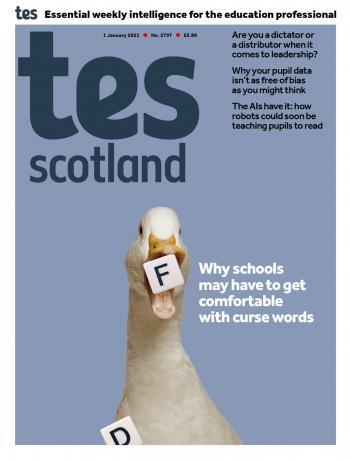 Tes Scotland issue 1 January 2021
