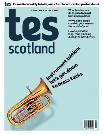 Tes Scotland cover 22/01/21