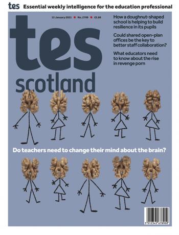 Tes Scotland cover 15/01/21