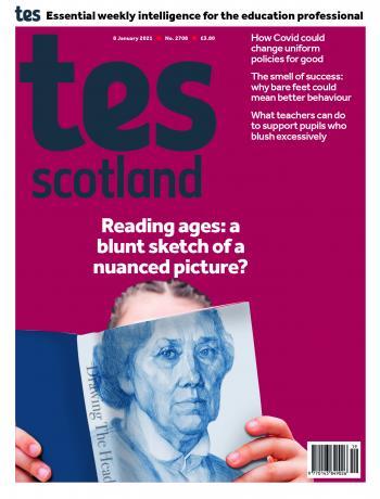 Tes Scotland cover 08/01/21