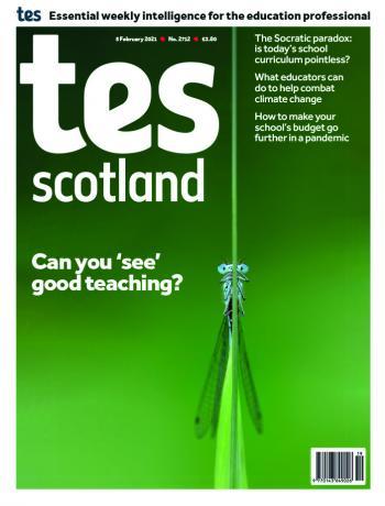 Tes Scotland cover 05/02/21