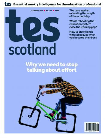 Tes Scotland cover 12/02/21