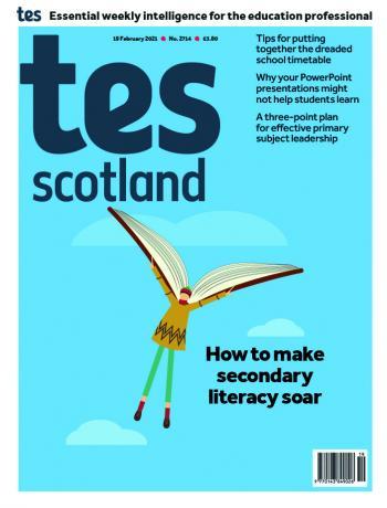 Tes Scotland cover 19/02/21