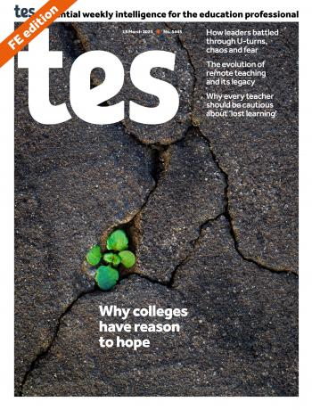 Tes FE cover 19/03/21