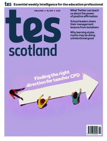 Tes Scotland cover 05/03/21