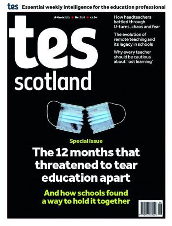 Tes Scotland cover 19/03/21