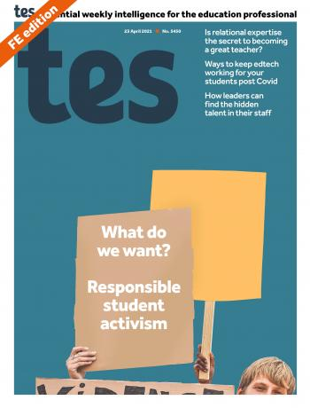Tes FE cover 23/04/21