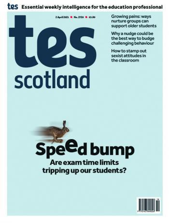 Tes Scotland cover 02/04/21