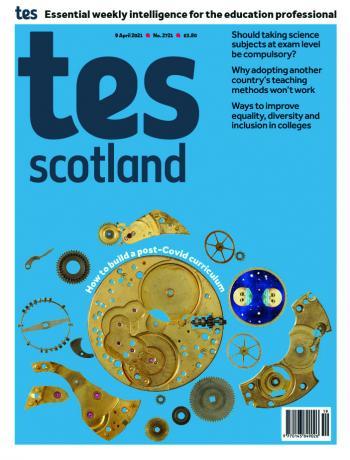 Tes Scotland cover 09/04/21