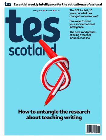 Tes Scotland cover 21/05/21