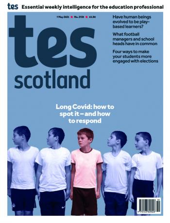 Tes Scotland cover 07/05/21