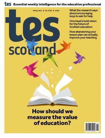 Tes Scotland cover 28/05/21