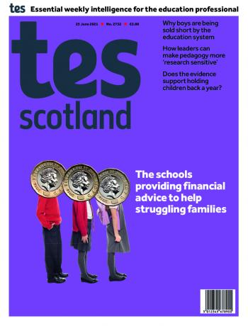 Tes Scotland cover 25/06/21