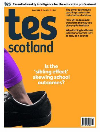 Tes Scotland cover 09/07/21