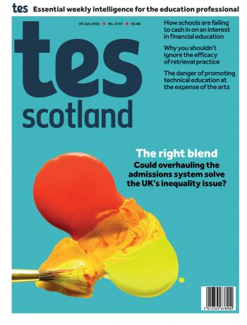 Tes Scotland issue 30 July 2021