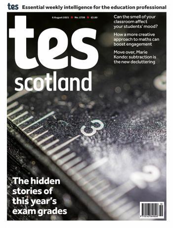 Tes Scotland cover 08/06/21