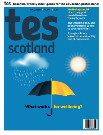 Tes Scotland cover 13/08/21