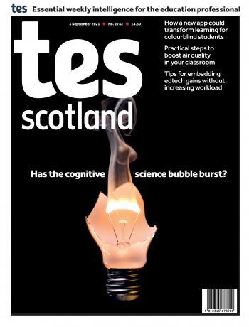 Tes Scotland cover 03/09/21