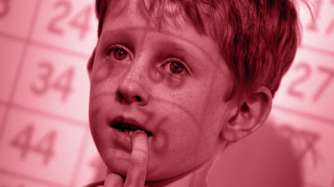 stressed primary child
