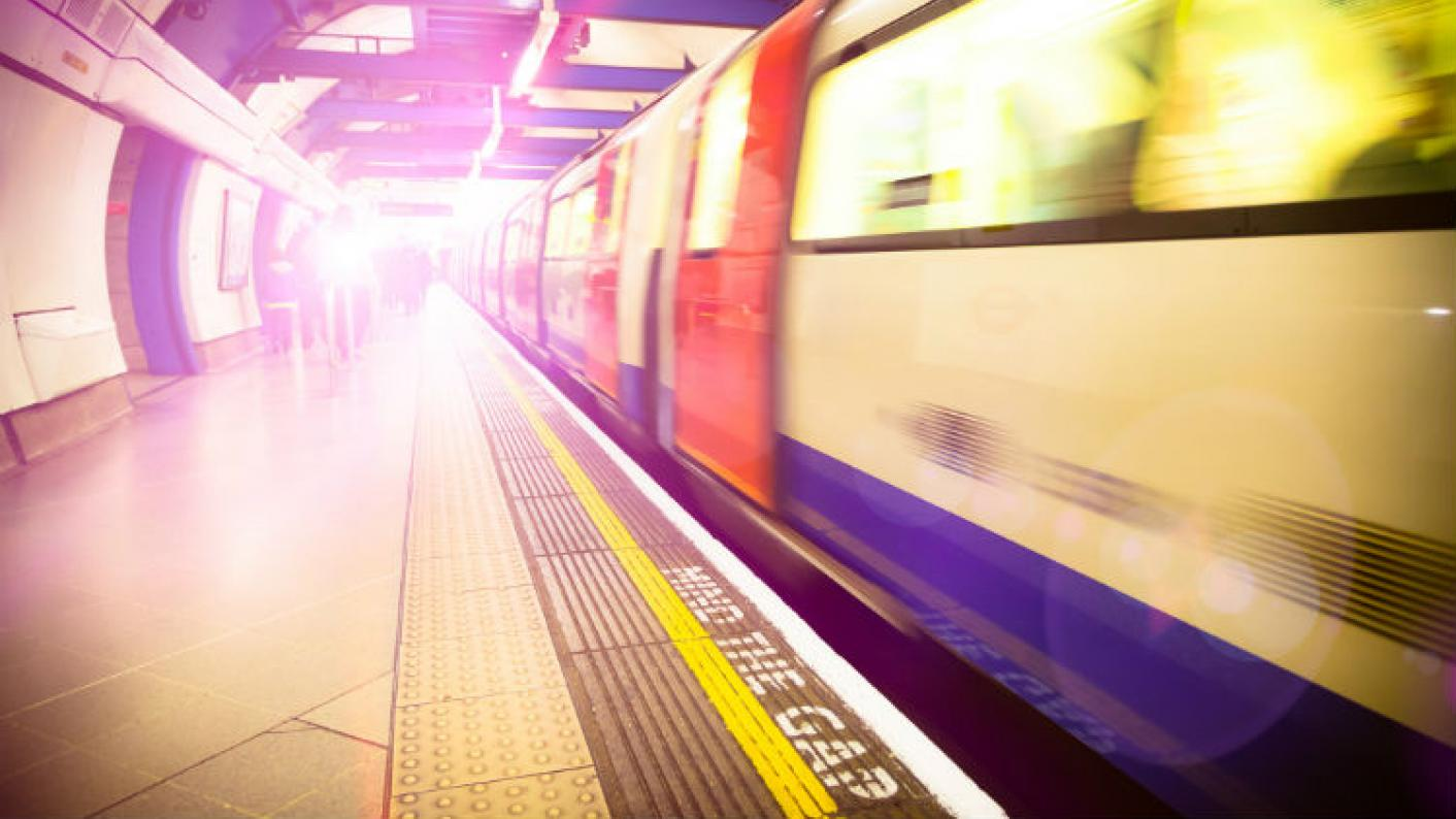 An Underground Train In London