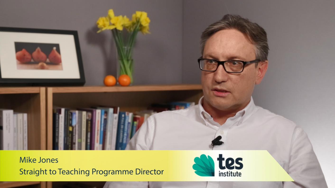 Mike-Jones-Straight-to-Teaching-Programme-Director