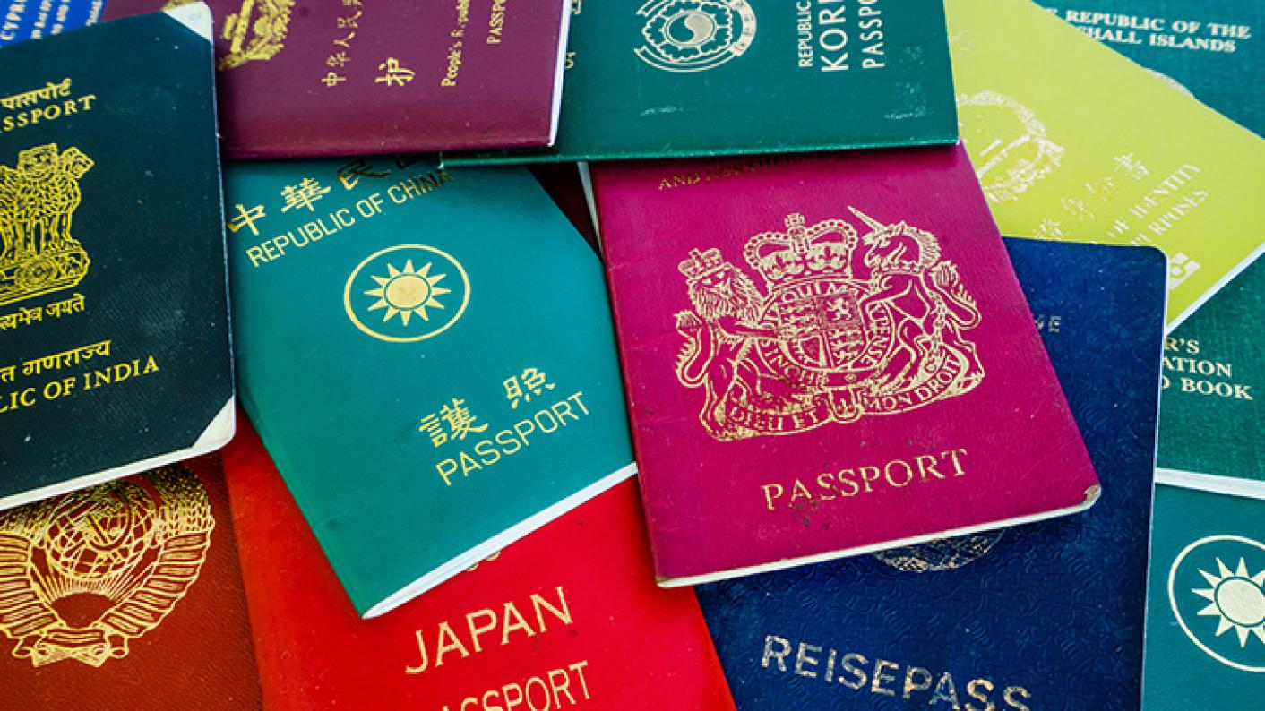 A Collection Of International Passports Representing Teaching Abroad.