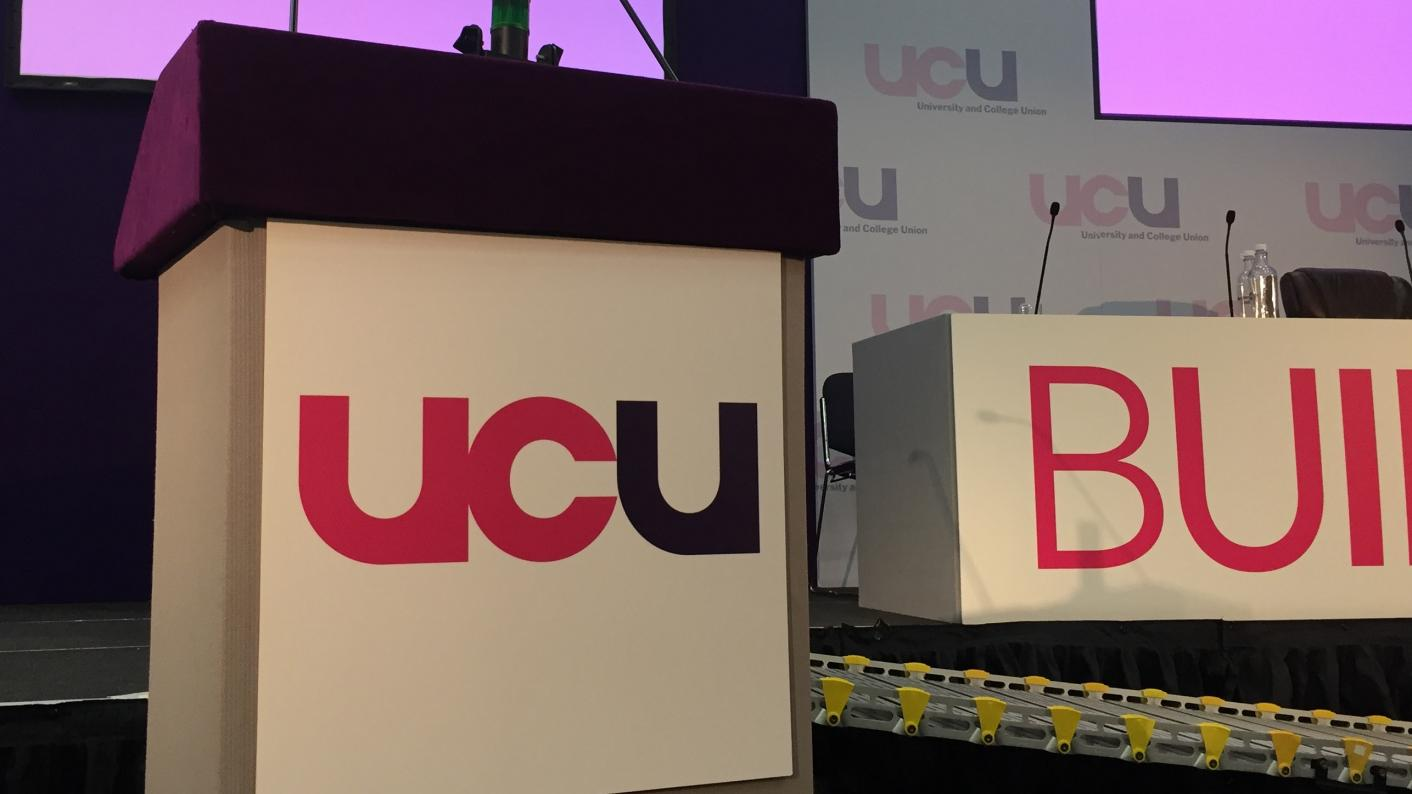 """The general secretary of the University and College Union (UCU) Sally Hunt has acknowledged """"great upset"""" among members"""