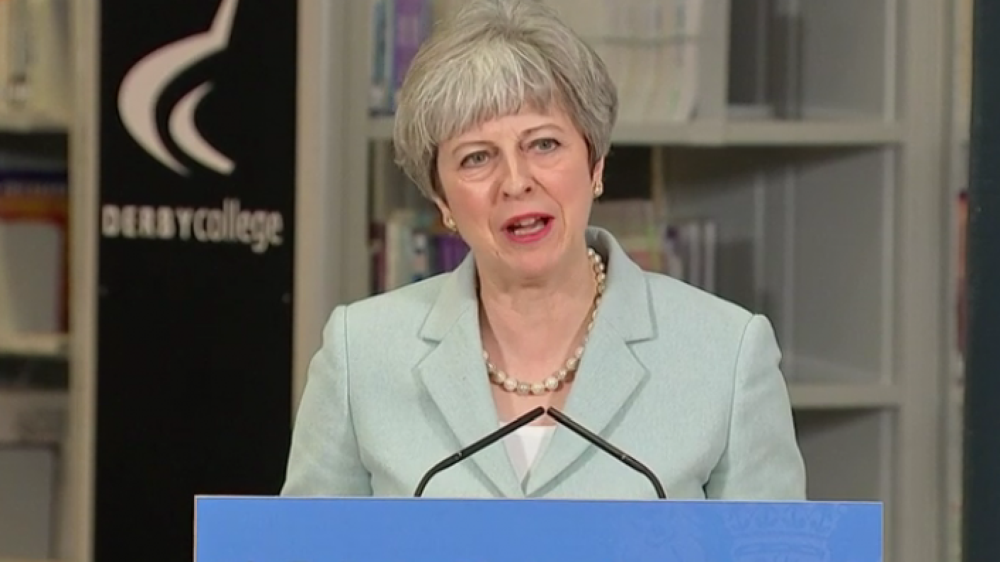 The post-18 review was launched by Theresa May at Derby College in May