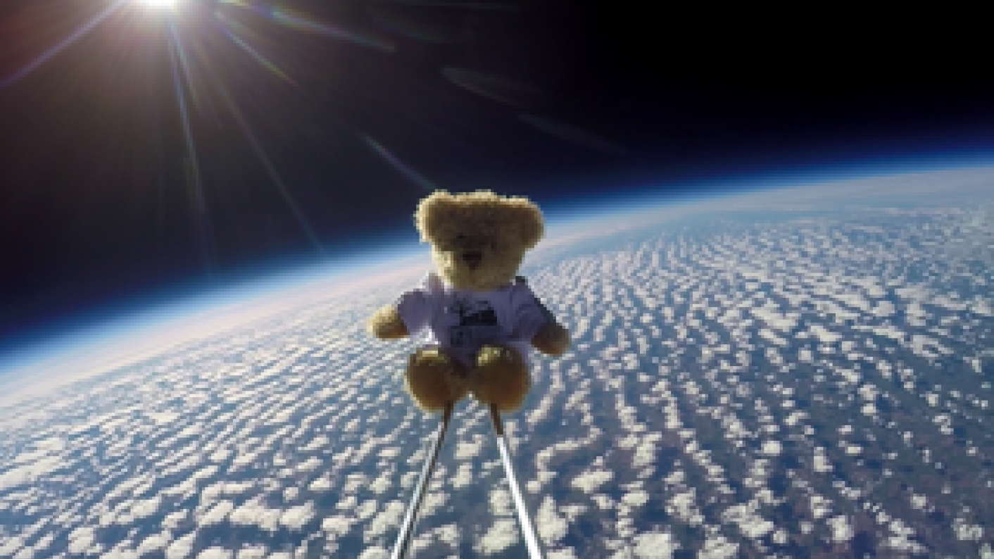 Hexthorpe Primary sends teddy bear to space