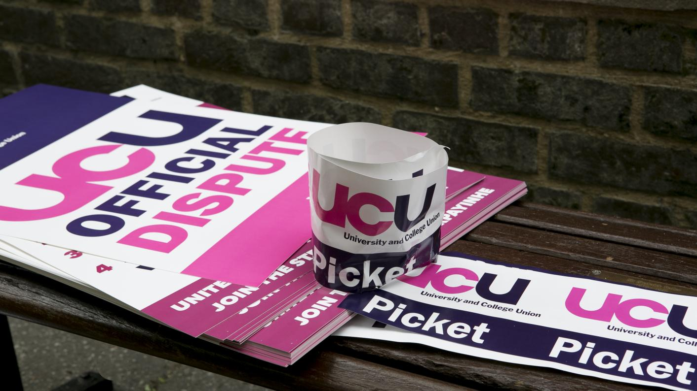 The UCU has announced 48-hour strikes at colleges in a dispute over pay