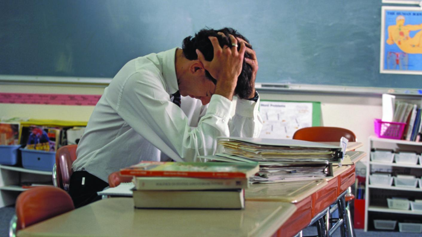 Workload and pay have been blamed for a sharp rise in the number of new teachers quitting the profession