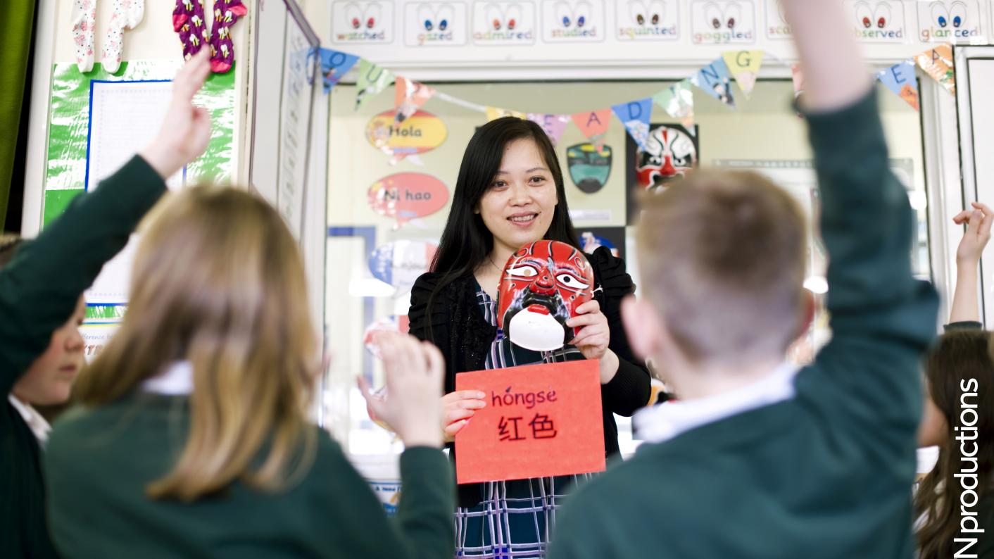 Modern language assistants help pupils to embrace the culture of the target country