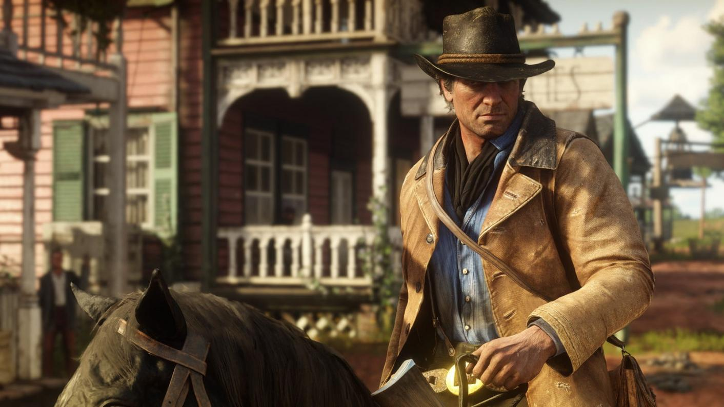 Red Dead Redemption 2 is one of the ways teacher Andrew Otty is engaging his GCSE English language students