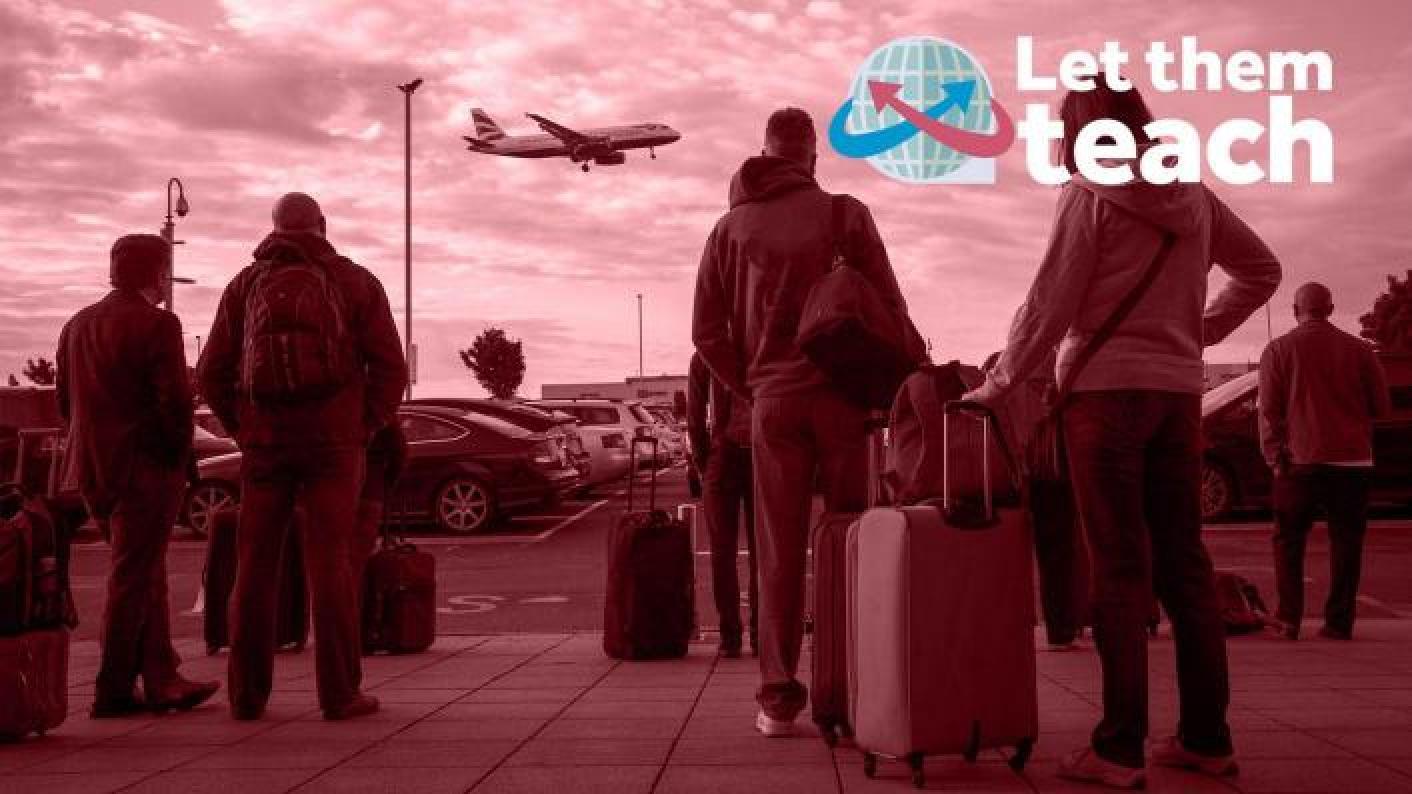 let them teach, recruitment, mats, tes, campaign