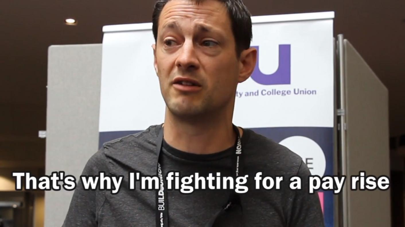 UCU strike campaign video banned by Facebook