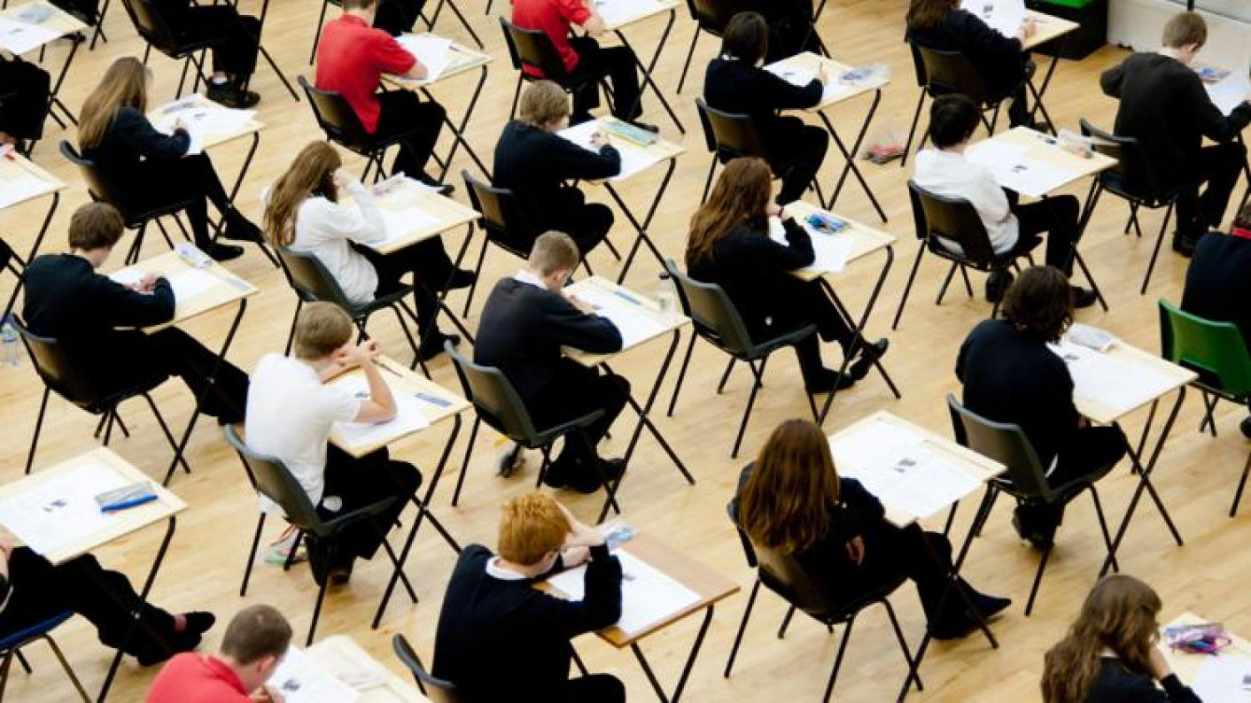 Thousands of pupils query their exam results