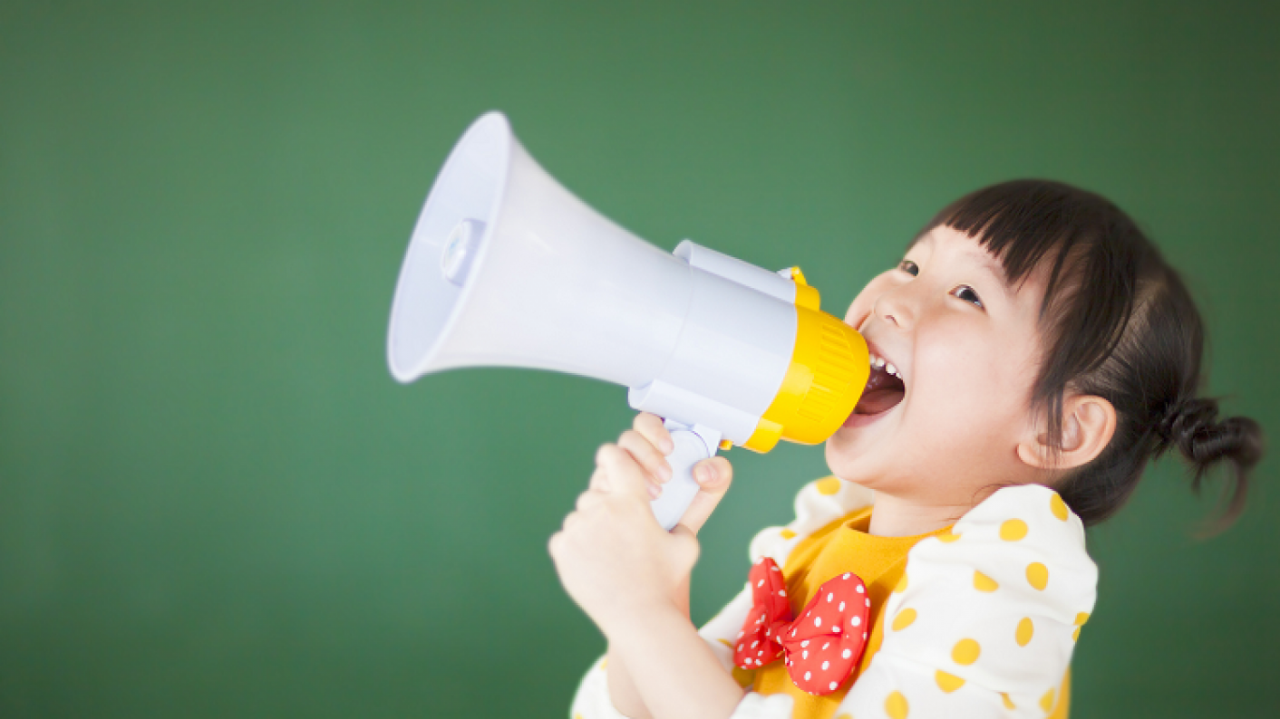 Giving 18- to 24-month-olds a turn talking boosts their language development, a study shows