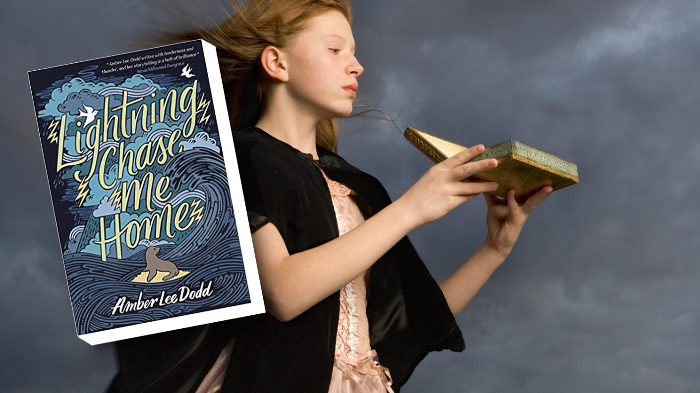 Class book review: Lightning Chase Me Home by Amber Lee Dodd is a magical book that thrilled Year 7s