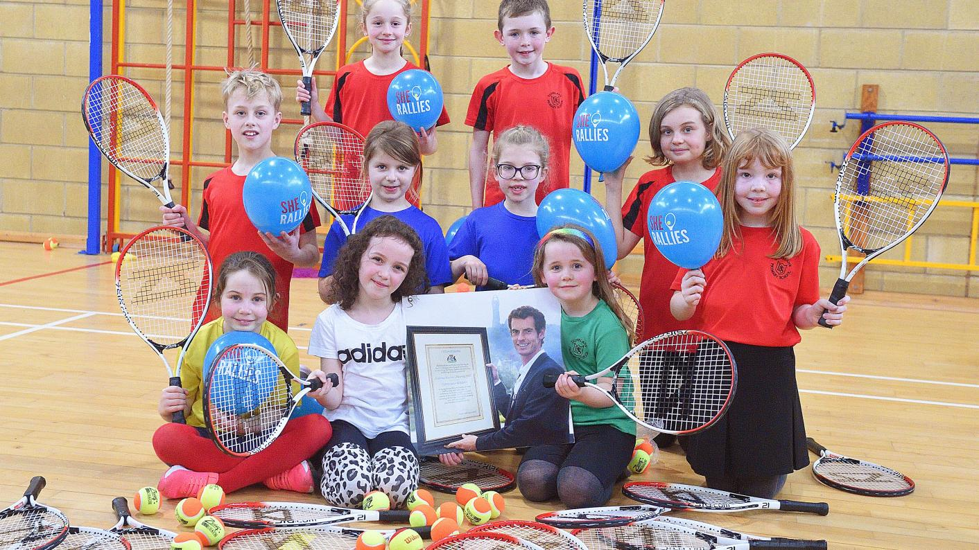 Andy Murray would be 'quite a good PE teacher'