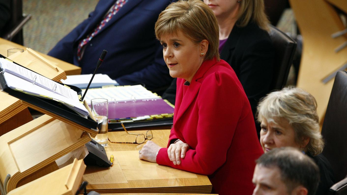 Nicola Sturgeon apologises to 'misrepresented' academics