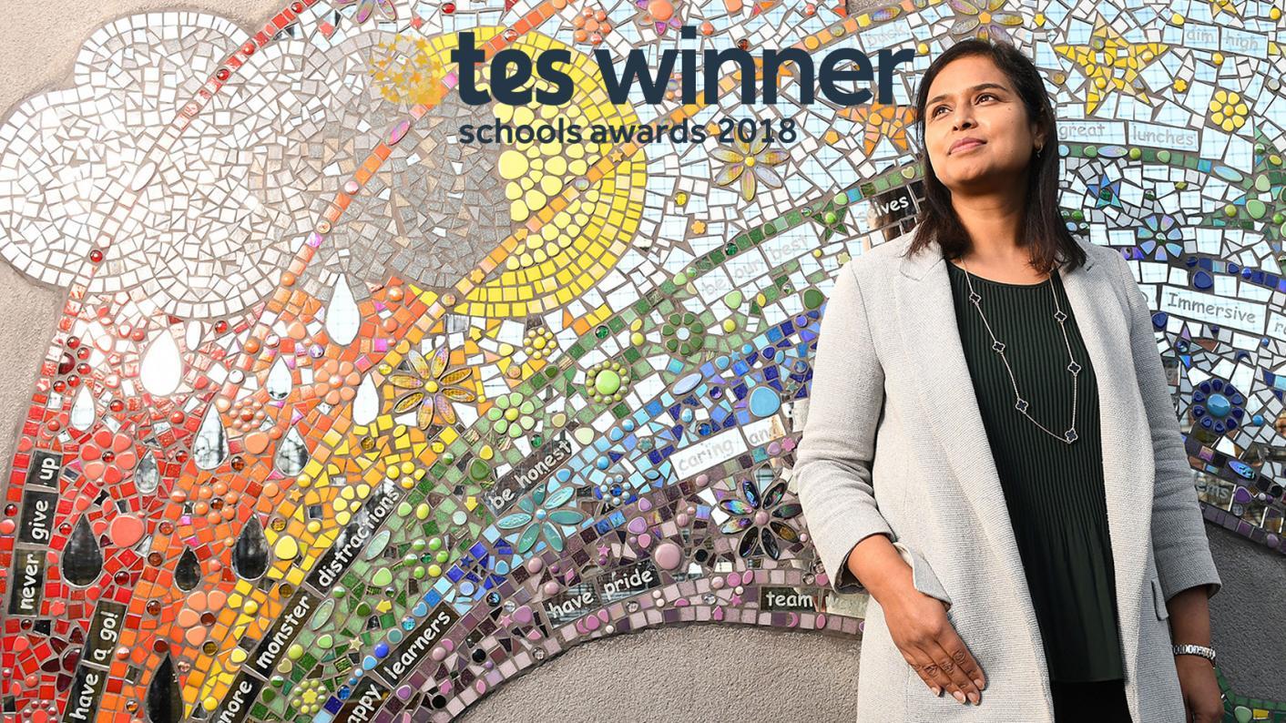 Azra Butt, head of Eldon primary, Preston, TES awards