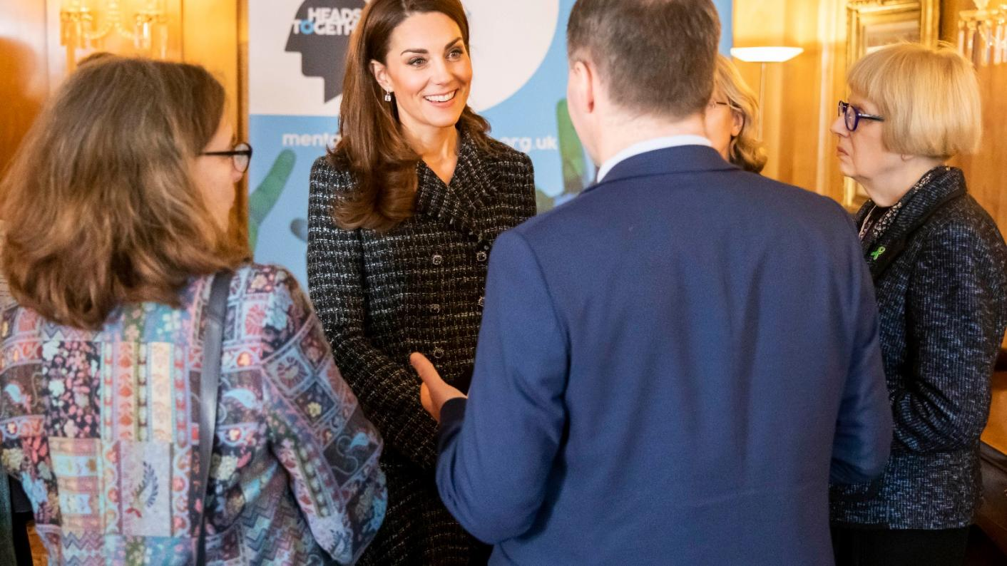 Kate Middleton also called for more support for teachers' wellbeing