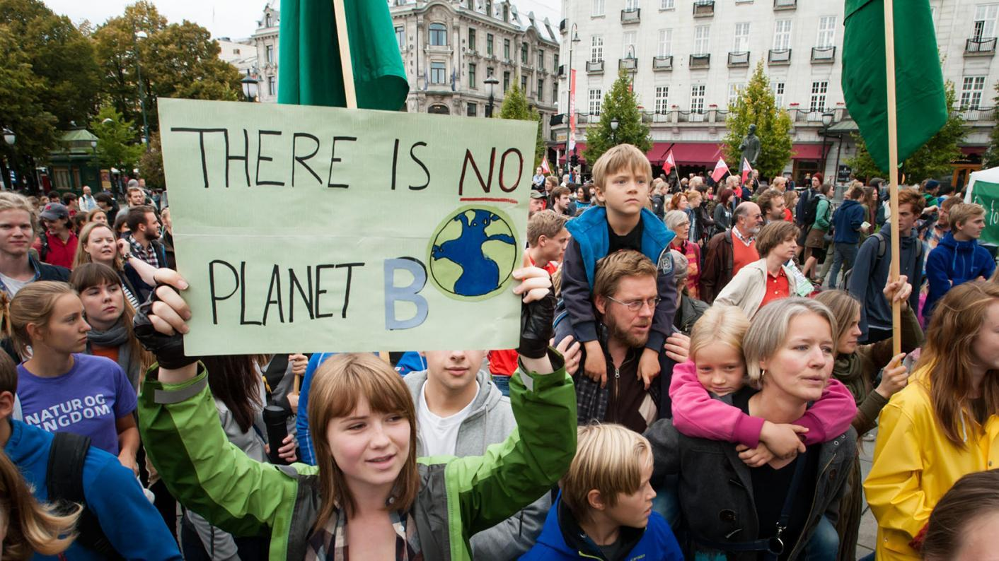'I skip school to stand up for the planet'