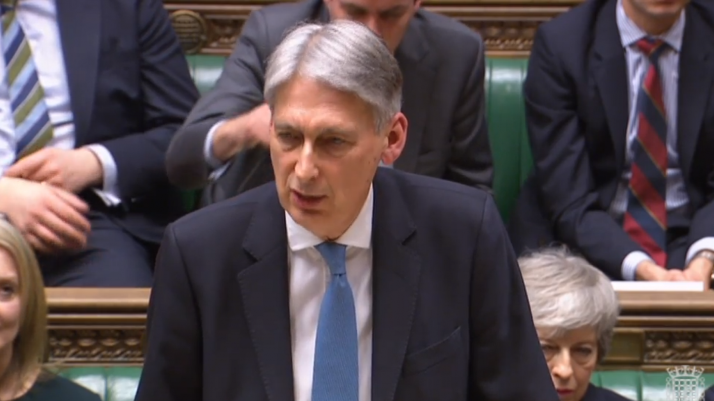 Chancellor Philip Hammond announced the changes to apprenticeship funding in the Spring Statement