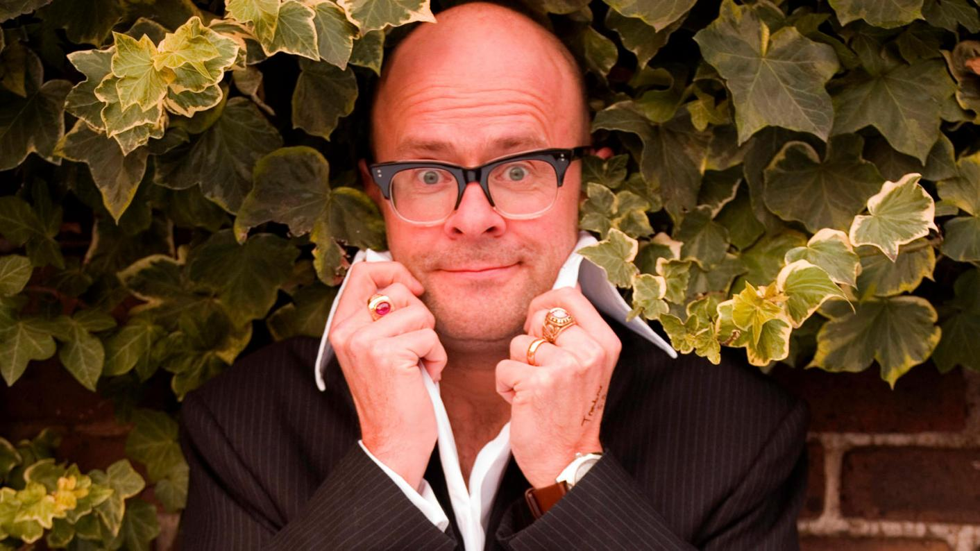 Harry Hill says that there are parallels between stand-up comedy and teaching