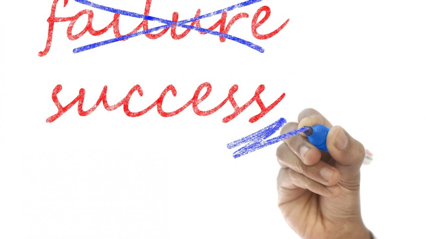 Can success be built from failure?